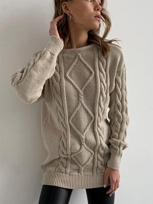 Сукня-туніка кремового кольору   5713520