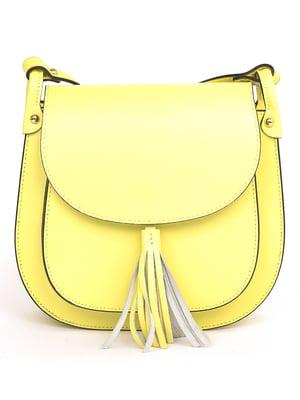 Сумка лимонного цвета | 5707736