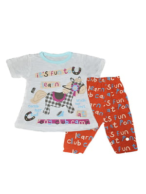 Комплект: футболка і бриджі | 5713842