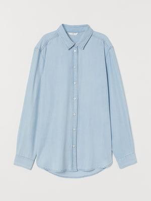 Рубашка светло-голубого цвета   5711504