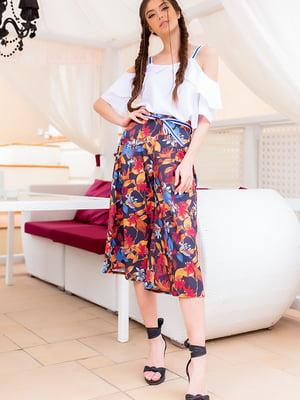 Костюм: блуза і штани | 5715111