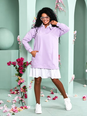 Платье лавандового цвета | 5715143