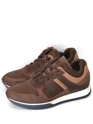 Кросівки темно-коричневі | 5715259