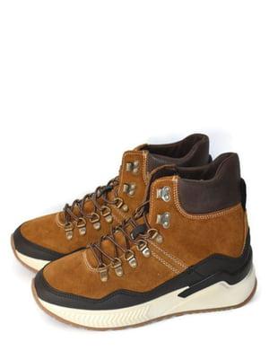 Кросівки коричневі | 5715269