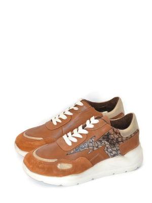 Кроссовки коричневые | 5715272