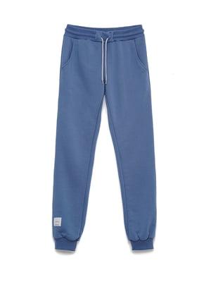Брюки спортивные цвета джинс | 5715293