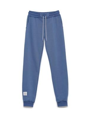 Штани спортивні кольору джинс   5715296