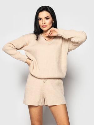 Костюм: пуловер и шорты | 5715339