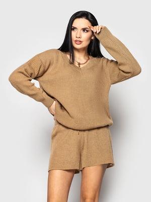 Костюм: пуловер и шорты | 5715341