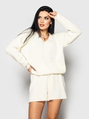 Костюм: пуловер и шорты | 5715342