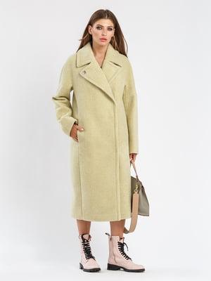 Пальто фісташкового кольору | 5715416