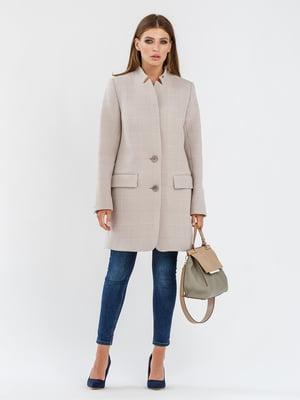 Пальто бежевое | 5715419