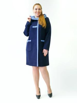 Пальто синее | 5715434