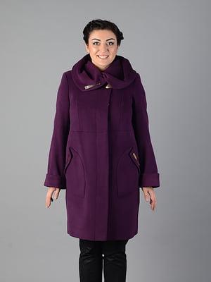 Пальто фіолетове | 5715452