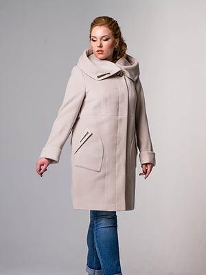 Пальто бежевое | 5715454