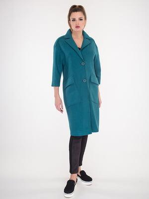 Пальто изумрудного цвета | 5715458