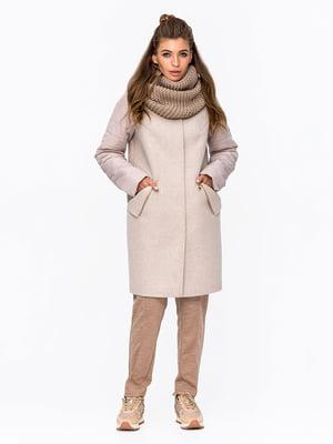 Пальто бежевое | 5715469