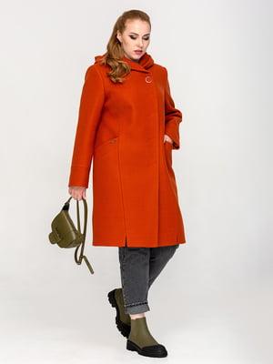 Пальто терракотового цвета | 5715473