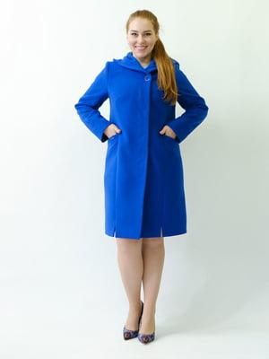 Пальто цвета электрик | 5715477