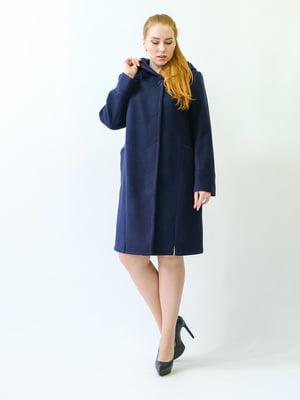 Пальто синее | 5715478