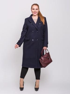 Пальто синее | 5715518