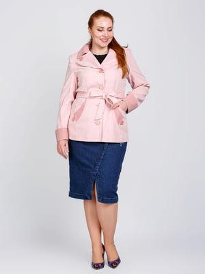 Куртка бежевая   5715565
