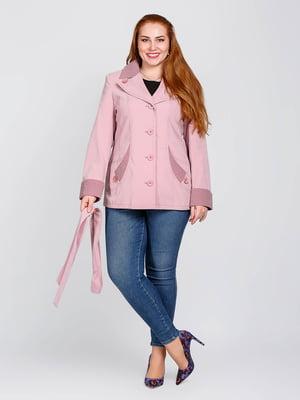 Куртка сиреневого цвета | 5715571