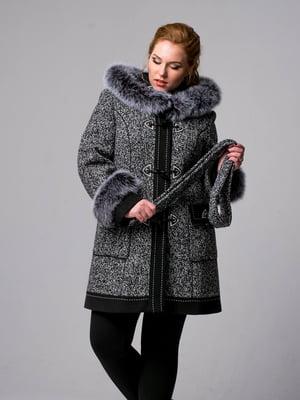 Пальто чорно-біле | 5715398