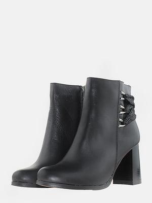 Ботинки черные   5703188