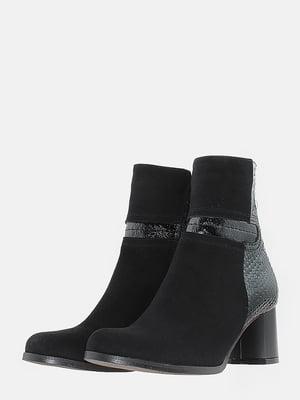 Ботинки черные   5703191