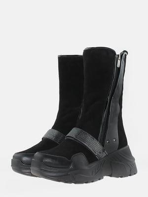 Ботинки черные | 5715610