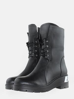 Ботинки черные | 5715614