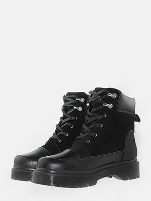 Ботинки черные | 5715615