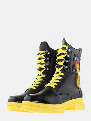 Ботинки черные | 5715622