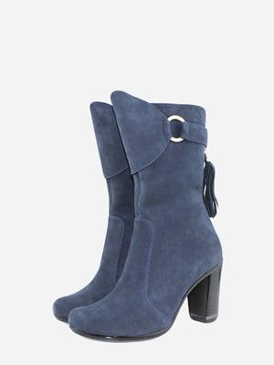 Ботинки синие | 5715624