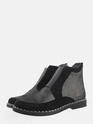 Ботинки черные | 5715627