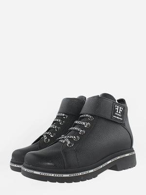 Ботинки черные | 5715628
