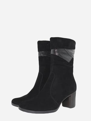 Ботинки черные   5715636