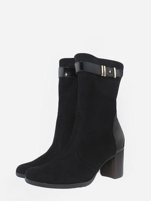 Ботинки черные | 5715637