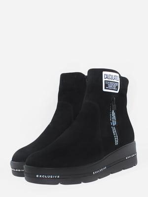 Ботинки черные | 5715638