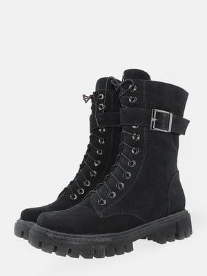 Ботинки черные   5715644