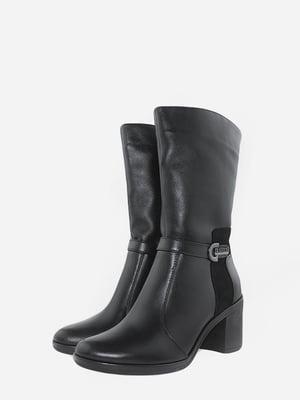 Ботинки черные | 5715667