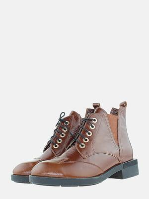 Черевики коричневого кольору   5715670
