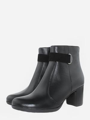 Ботинки черные   5715674