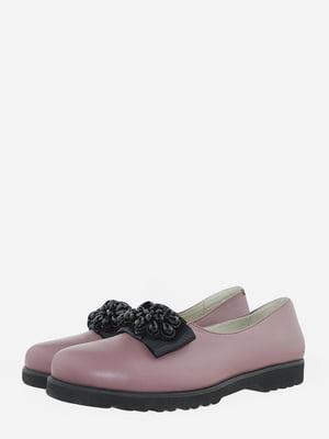 Лоферы розового цвета   5715791