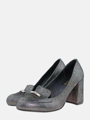Туфлі графітового кольору | 5715829