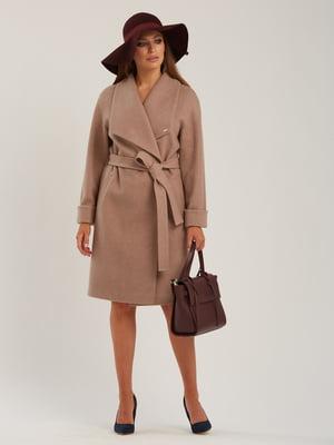 Пальто кавового кольору | 5715437