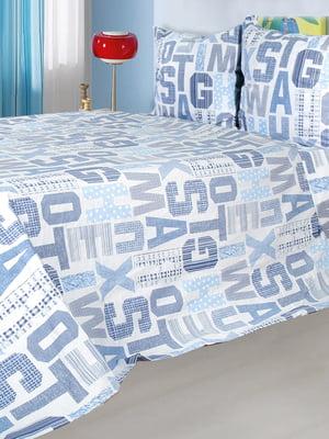 Комплект постельного белья двуспальный с простынью (220х200 см) | 5692675