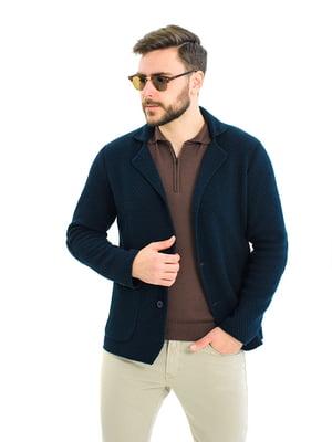 Пиджак темно-синий | 5632136