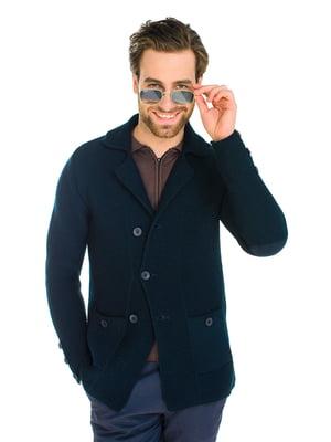 Пиджак темно-синий | 5632476